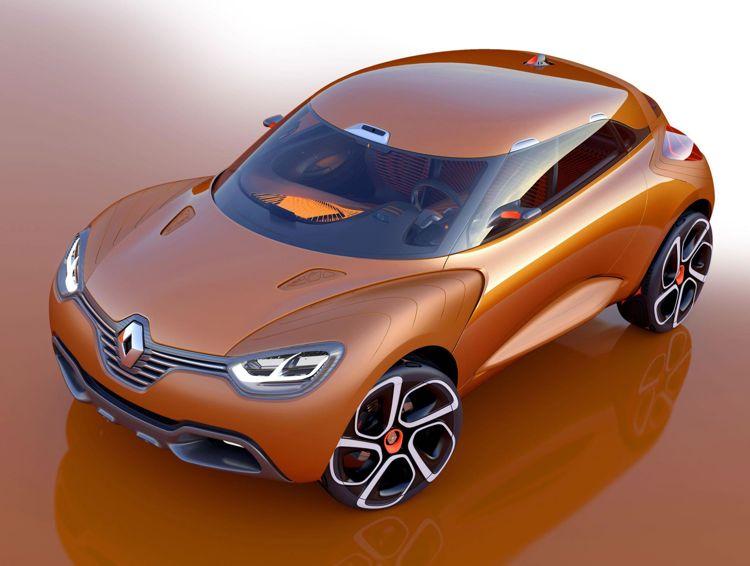 Genf 2011 Renault Zeigt Die Designstudie Captur