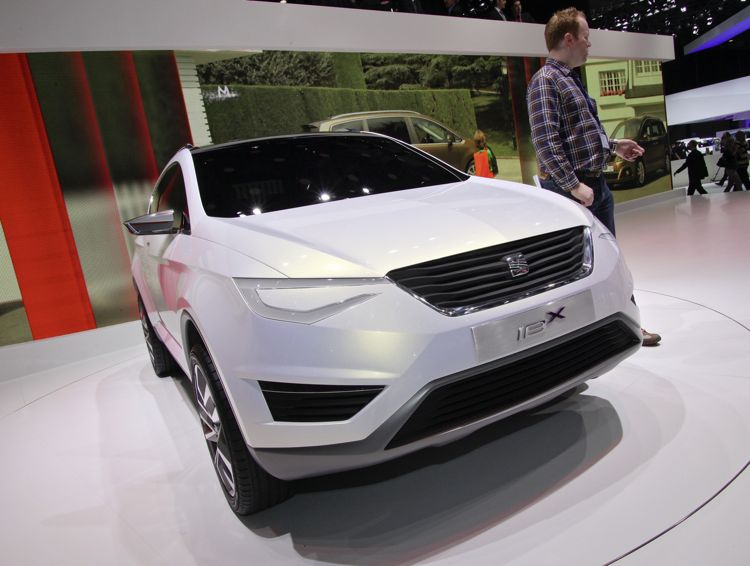 Genf 2011 Seat Hybridauto Ibx Concept
