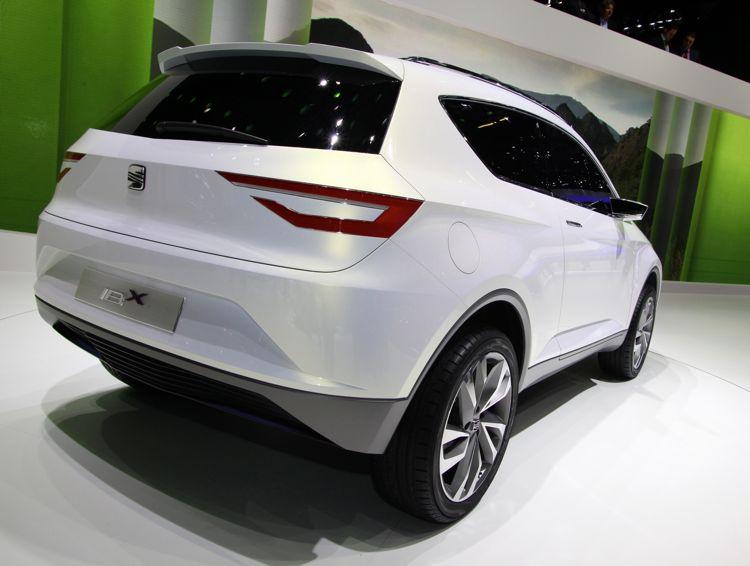 Genf 2011 Seat Hybridauto Ibx Concept