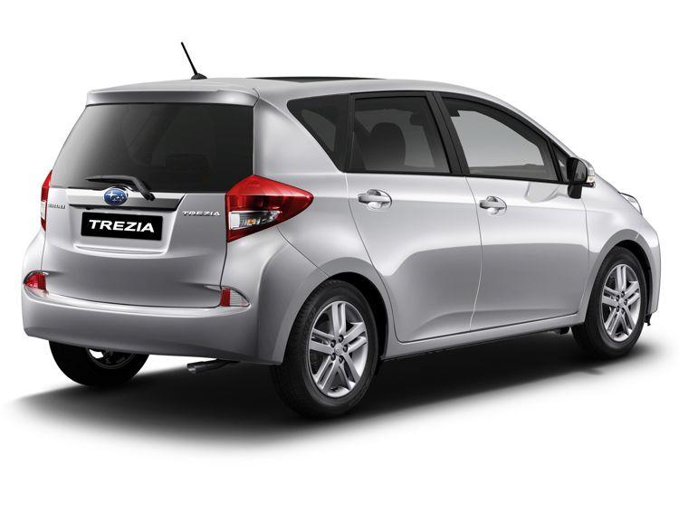 Genf 2011 Subaru Zeigt Den Trezia Auf Dem Autosalon