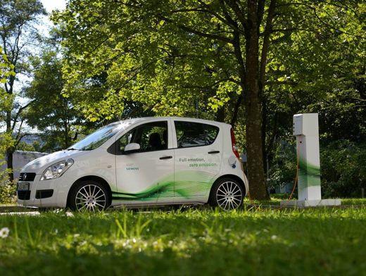 German E Cars Liefert Elektroauto Stromos An Siemens Aus