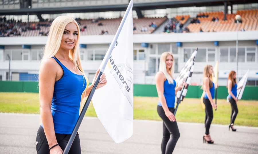 Grid-Girls ADAC GT Masters
