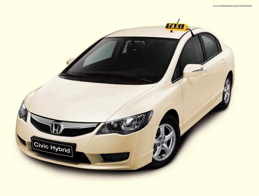Honda Civic Hybrid Taxi 2010