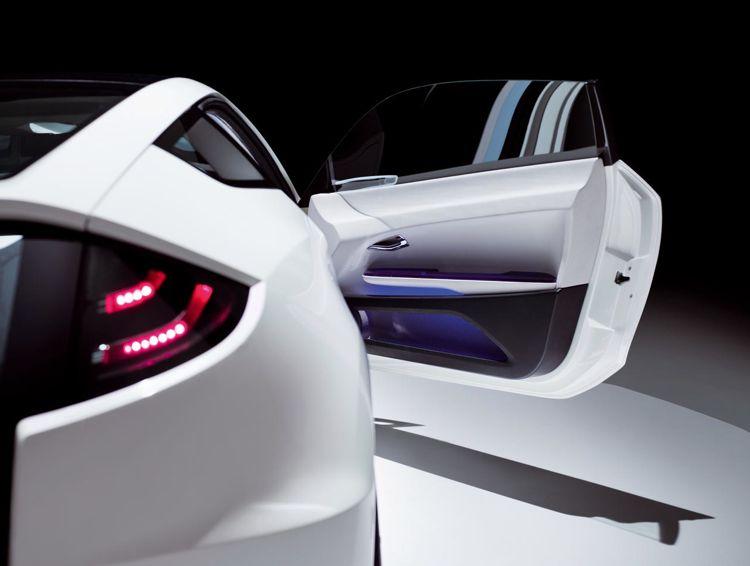 Honda Cr Z Hybrid Concept 2008