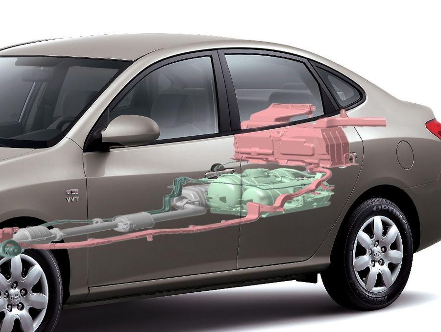 Hyundai Avante Lpi 2009