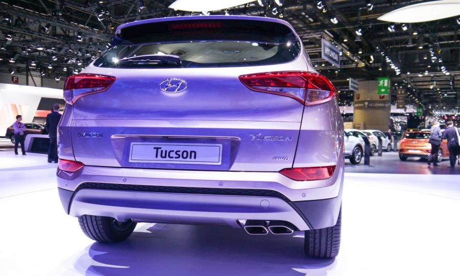 Hyundai Tucson auf dem Genfer Automobilsalon 2015