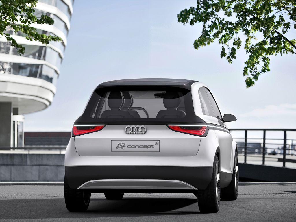 Weltpremiere des Audi A2 Concept