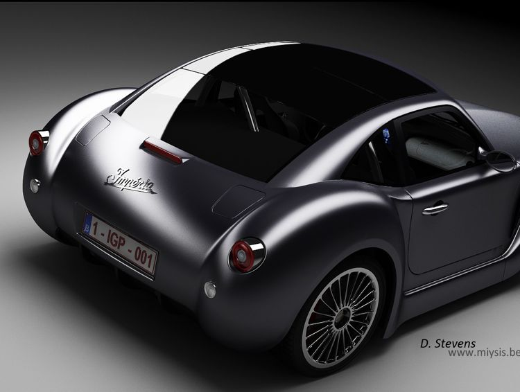 Imperia Gp Roadster Symbiose Aus Design Und Hybridtechnik
