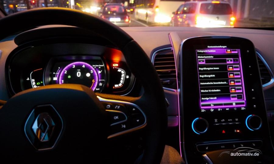 Neue Infotainment- und Fahrassistenztechnik bei Renault