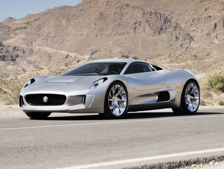 Jaguar C X75 Plug In Hybrid 2010