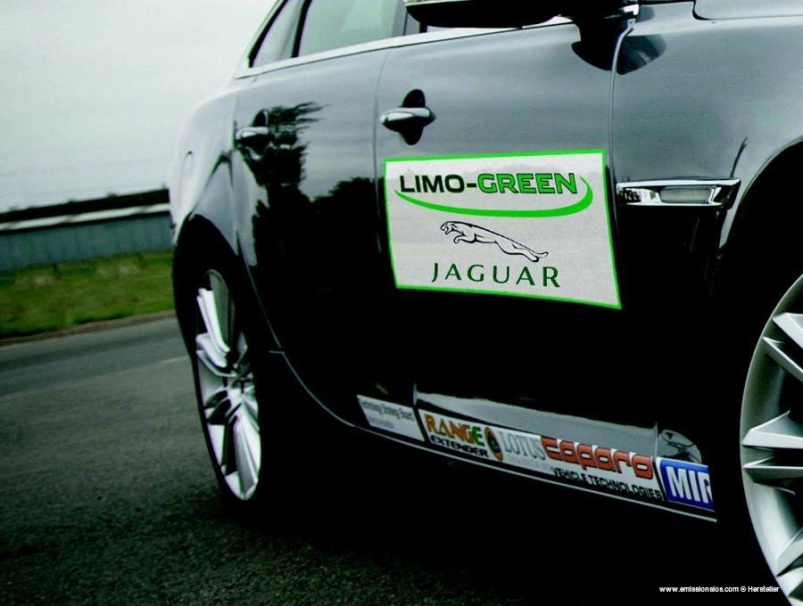 Jaguar Lime Green Hybrid 2010