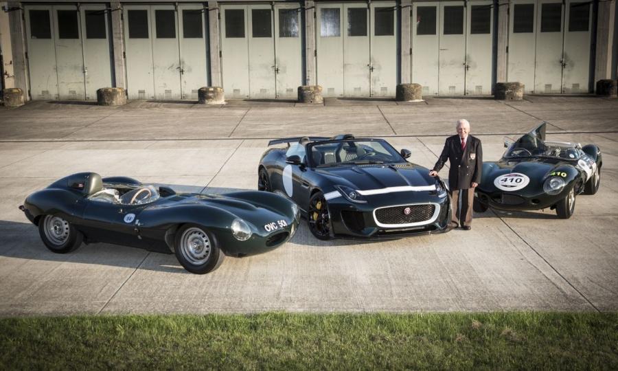 Jaguar auf dem 42. Oldtimer Grand Prix am Nürburgring 2014