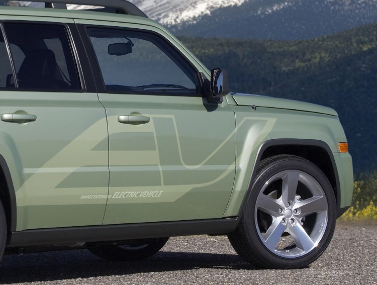 Jeep Patriot Ev 2010