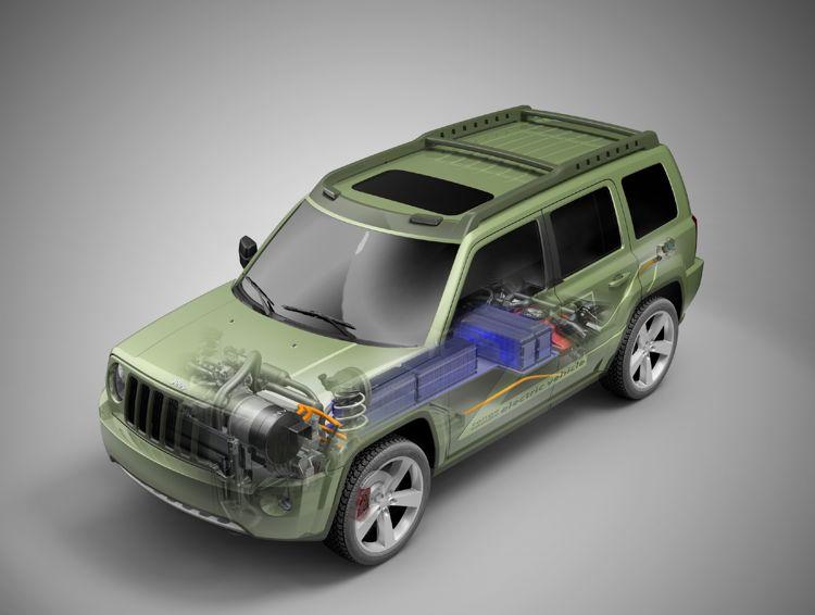 Jeep Patriot Ev 2010