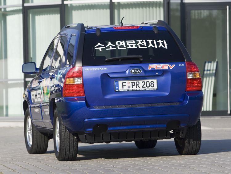 Kia Sportage Fcev 2004