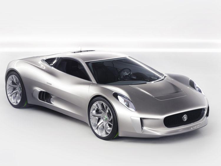 Klimafreundlich Ist Schick Jaguar C X75 Plug In Hybrid