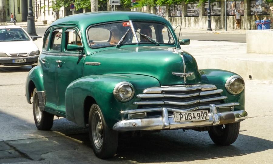 Kuba und seine Autos im Jahr 2015