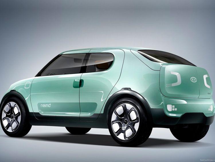 Kultiger Quader Elektroauto Kia Naimo Feiert Premiere In Seoul