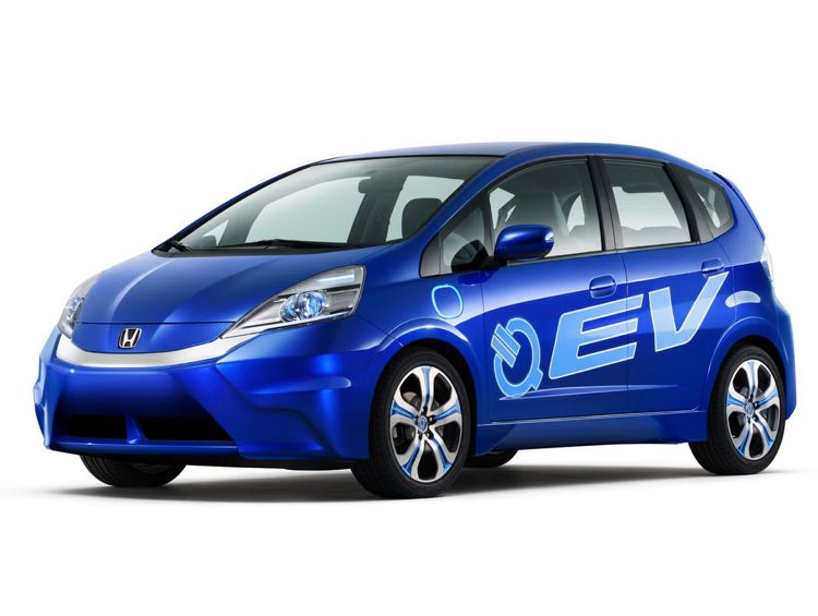 La Auto Show Honda Jazz Plugin Hybrid