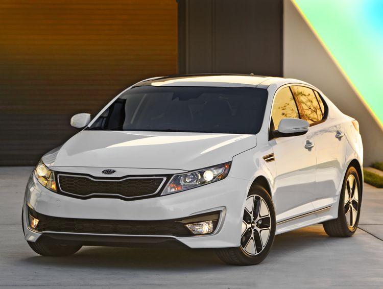 La Auto Show Kia Optima Hybrid