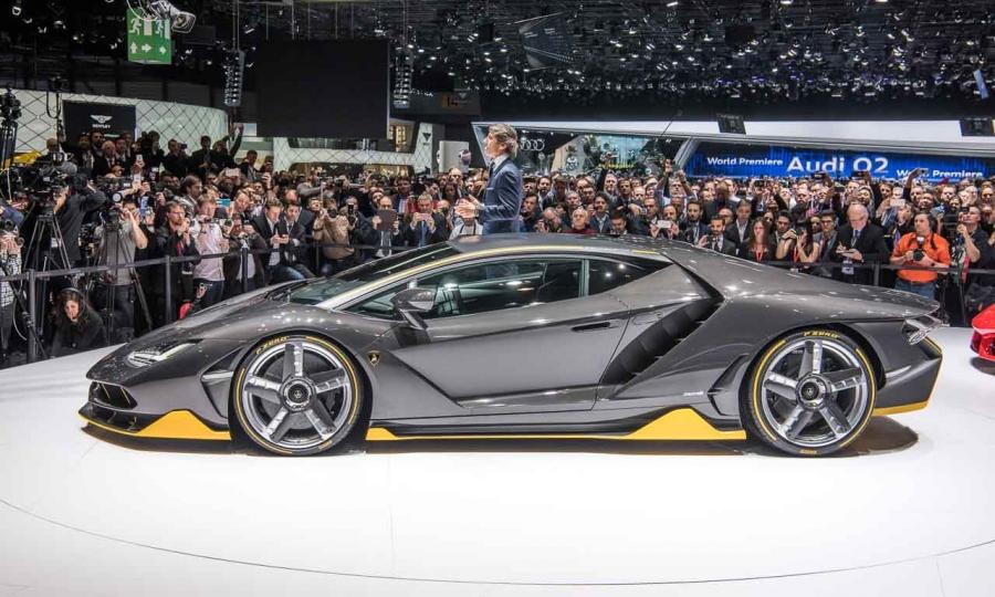 Lamborghini Centenario auf dem Genfer Autosalon 2016