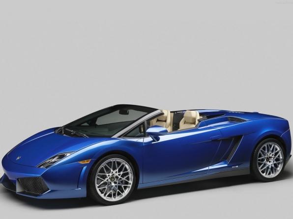 Lamborghini Gallardo LP550-2 Spyder (2012)