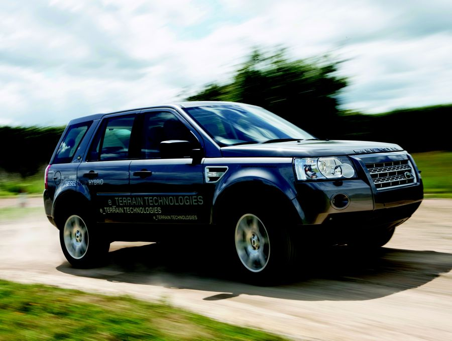 Land Rover Erad 2008