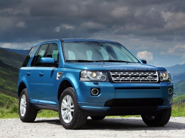 Land Rover Freelander Facelift (2013)