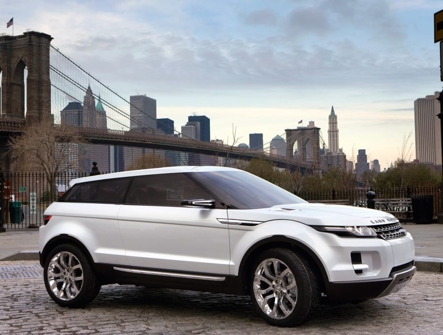Land Rover Lrx Concept Car 2008