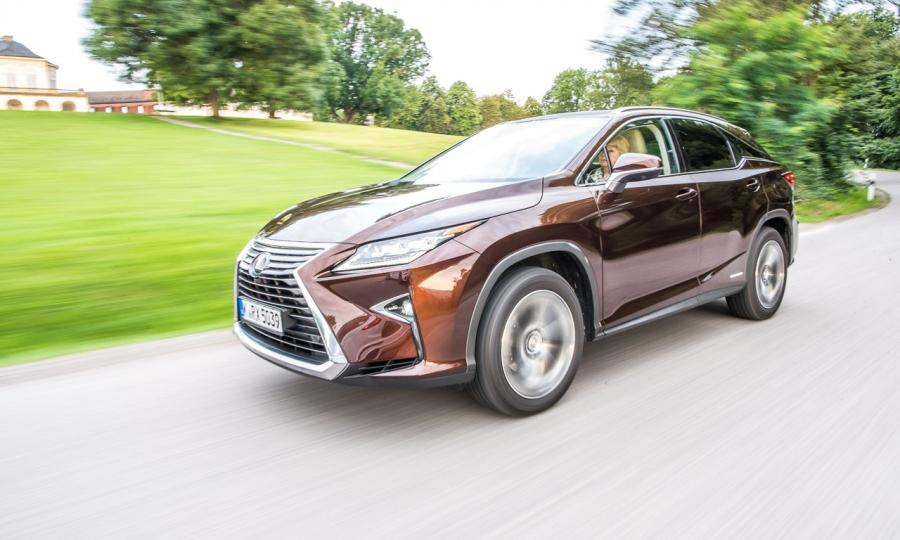 Lexus RX450h im Fahrbericht