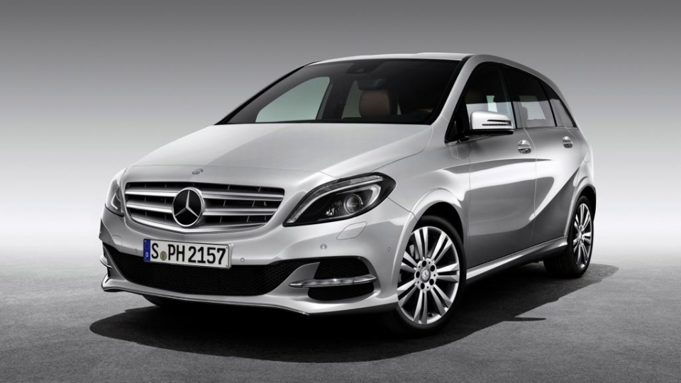 Mercedes-Benz B-Klasse Natural Gas Drive (2014)