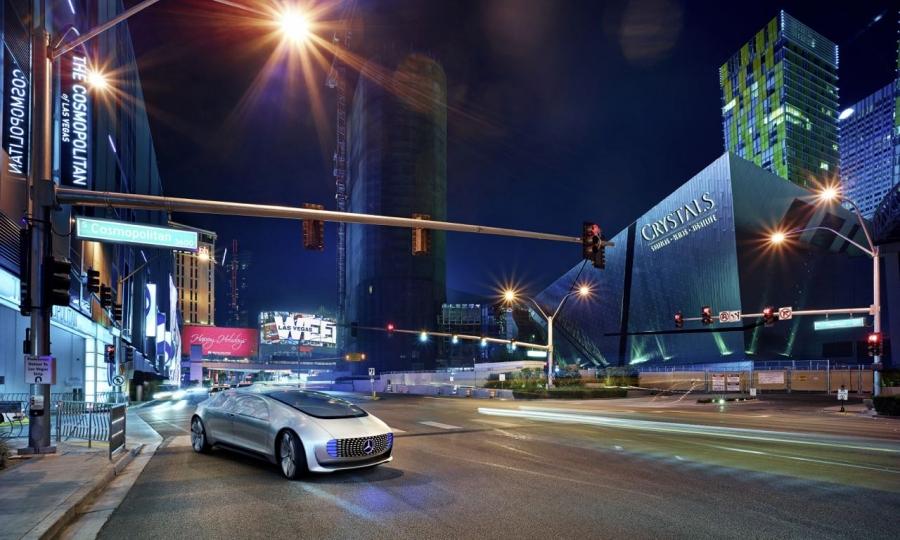 Mercedes-Benz F 015 Konzeptauto