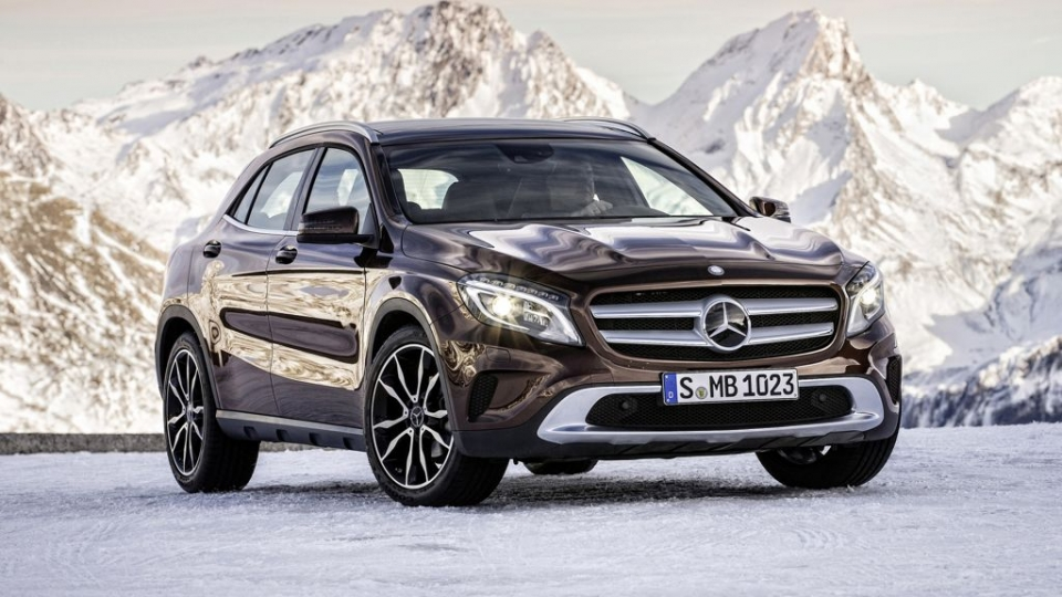 mercedes benz gla neues suv kommt im m rz auf den markt das auto magazin. Black Bedroom Furniture Sets. Home Design Ideas