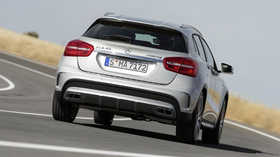 Mercedes-Benz GLA 45 AMG (2014)