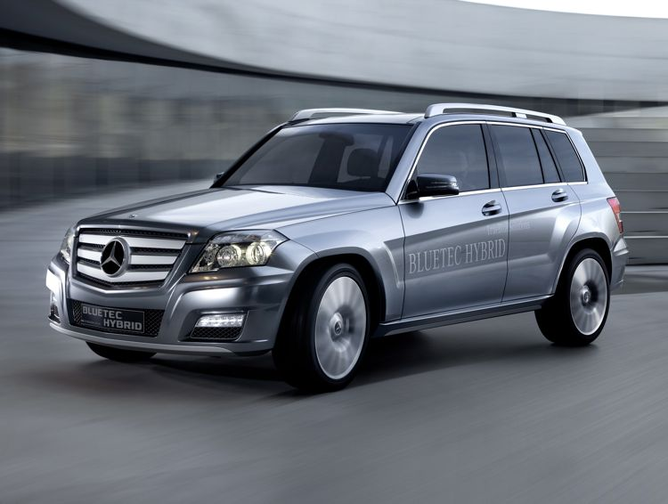 Mercedes Benz Glk 300 Bluetec Hybrid 2012