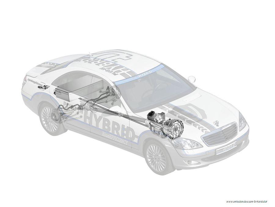 Mercedes Benz S500 Plug In Hybrid 2009