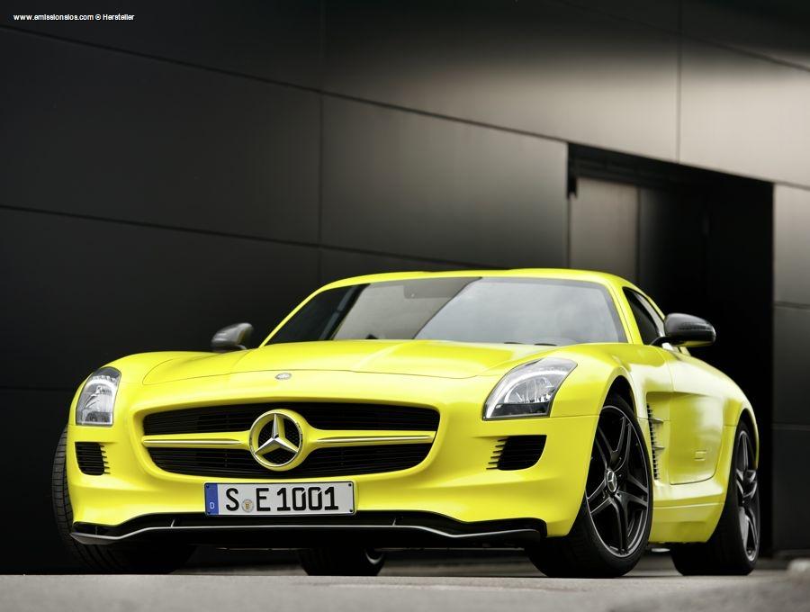 Mercedes Benz Sls Amg E Cell 2010