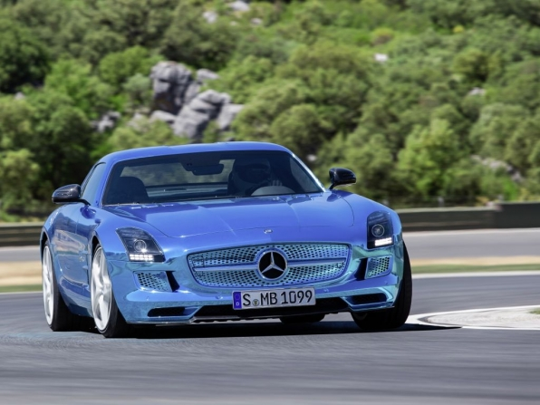 Mercedes-Benz SLS AMG Electric Drive (2013)