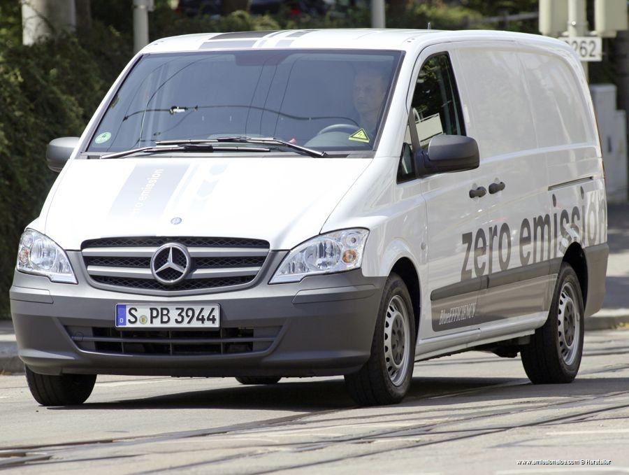 Mercedes Benz Vito E Cell 2010