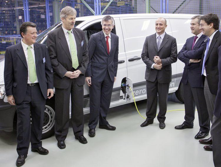 Mercedes Benz Vito E Cell Deutsches Elektroauto Auf Spanischen Straen