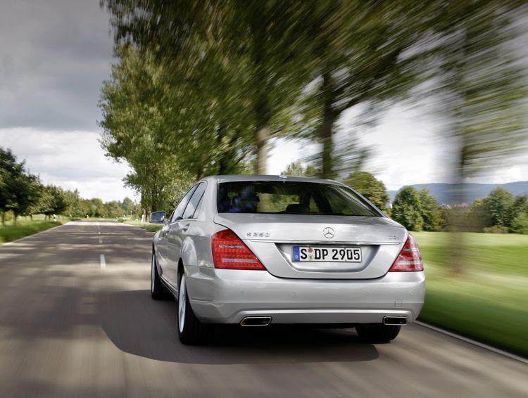 Mercedes S 250 Cdi Blueefficiency Mit 4 Zylinder Und Weniger Verbrauch