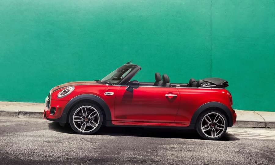 mini cooper s cabrio h nde hoch sonne rein automativ. Black Bedroom Furniture Sets. Home Design Ideas