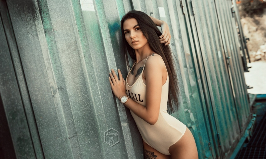Melissa, 21, aus Emmendingen Photo by Daniel Mustafa