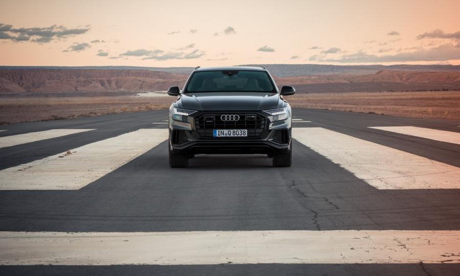 Mit dem Audi Q8 durch die Atacama Wüste