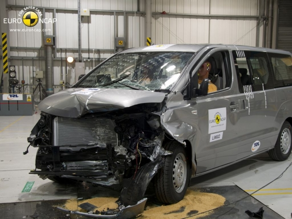 NCAP Crashtest Hyundai H-1 (2012)