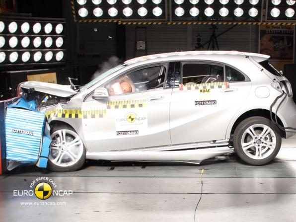 Euro NCAP-Crashtest: Neue Mercedes A-Klasse erzielt fünf Sterne