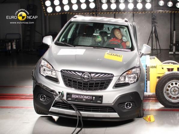 NCAP Crashtest Opel Mokka