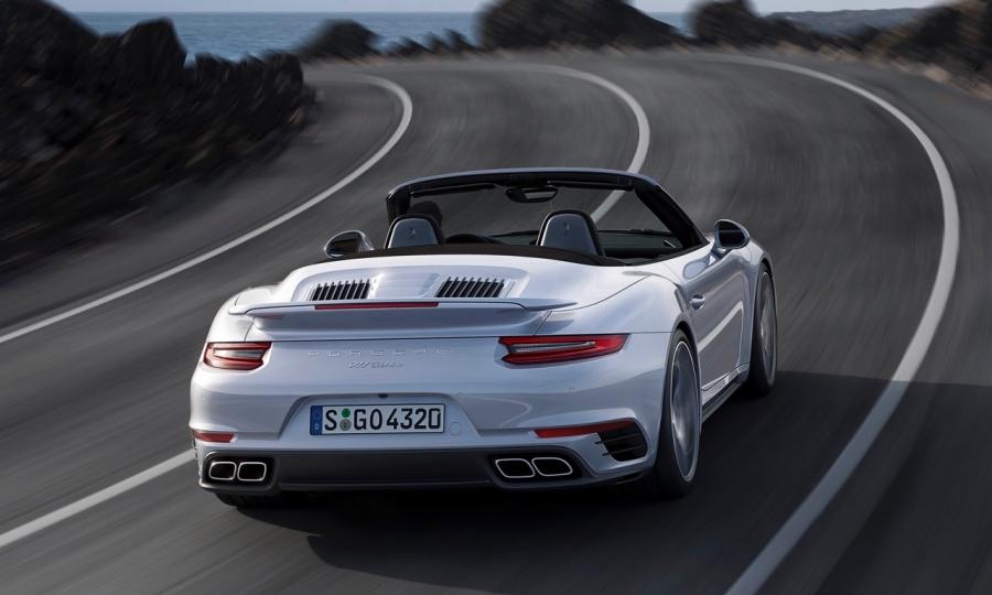 Neue Porsche 911 Turbo und Turbo S Modelle