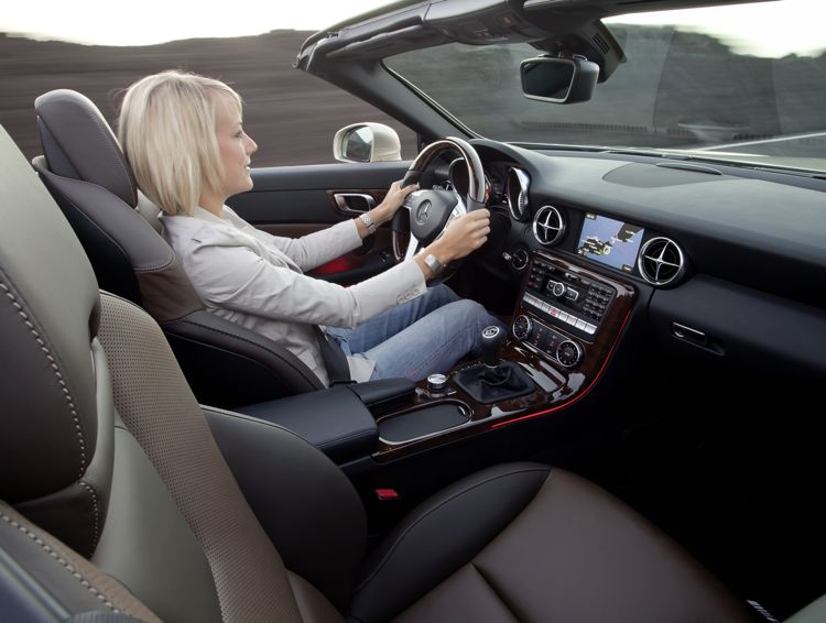 Neuer Mercedes Slk Mit Bis Zu 25 Prozent Weniger Verbrauch