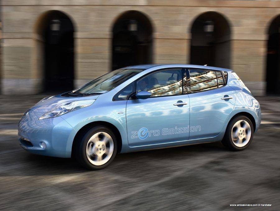 Nissan Leaf Elektroauto Preis Voraussichtlich 35000  Reichweite 160 Kilometer